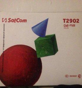 цифровой эфирный приемник Satcom T2902