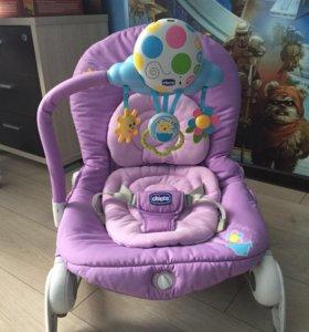 Детский шезлонг Chicco Balloon + подарок 🎁