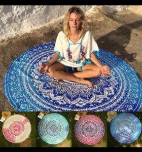 Новые коврики для медитации парэо для пляжа