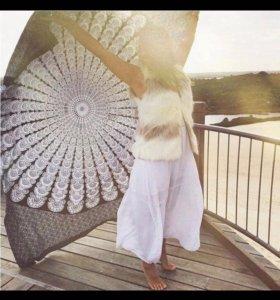 Парео Бохо покрывала для пляжа или дома