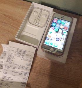 продам айфон 5s 16GB silver