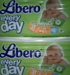 Либерo Подгузники Everyday Size 3 (4-9 кг) 46 шт