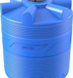 ёмкость на 2000л для воды и топлива
