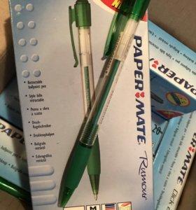 Ручка шариковая зелёная