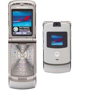 Motorola RAZR-V3 Silver на запчасти