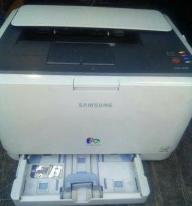 Цветной лазерный принтер samsung clp-310/315