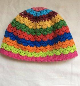 Летняя шапочка панамка для девочки
