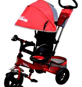 Детский велосипед трехколесный Trike новый красный