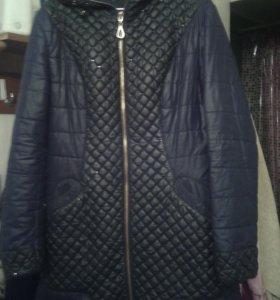 куртка удлинёная