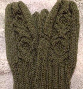 Варежки,шапки,снуды,митенки,шарфы