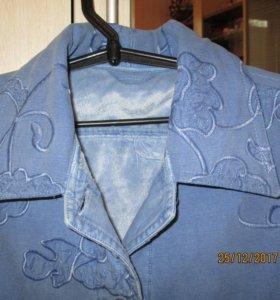 Куртка новая, джинса на флизе.
