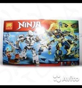 "Лего ниндзяго аналог "" битва механических титанов"""