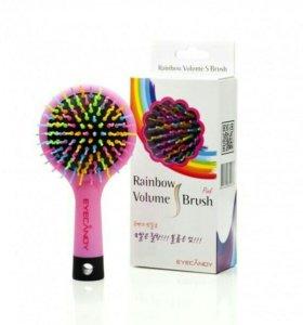 Расческа rainbow volume brush