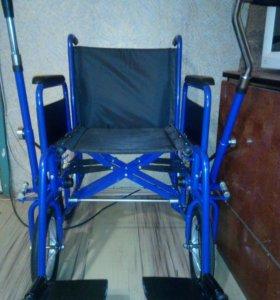Коляска инвалидная новая с ручным приводом