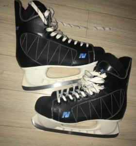 Коньки Хоккейные 45 р-р Nordway, почти новые