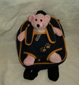 Детский рюкзачок с мишкой