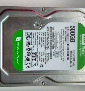 HDD 500gb WD Green