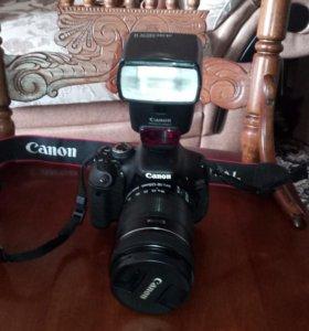 Продам фотоаппарат+вспышка