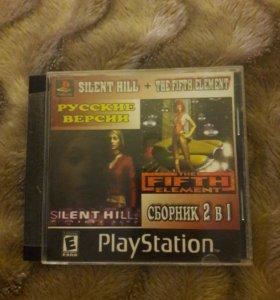 Диск с 2 играми для PS
