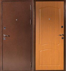 Дверь входная 2х контурная