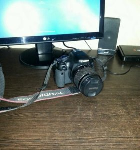 Canon EOS 600D efs 18-55mm