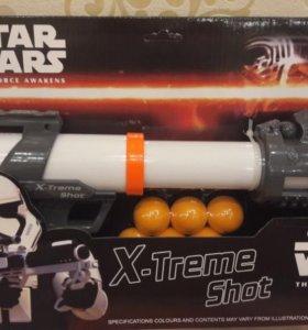 Космический пистолет с шарами