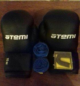 Боксерские перчатки, 10 унций