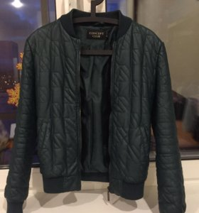 Стеганая Куртка и ЭКО кожи