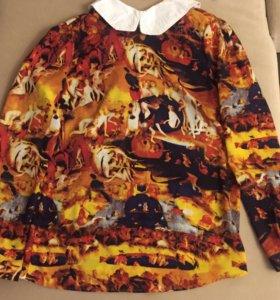 Необычная оригинальная блузка,рубашкаS.W.T.E WOMAN