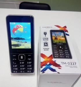Телефон Texet D227