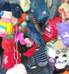 Детские варежки и перчатки!