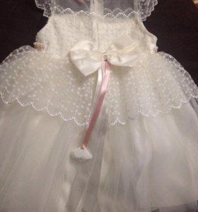 Платье на девочку рост 92
