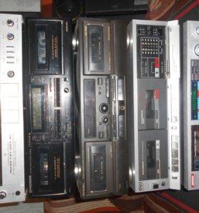 Деки кассетные Импортные и производство СССР