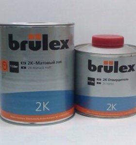Матовый лак BRULEX