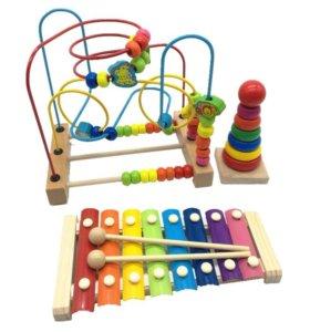 Наборы развивающих игрушек