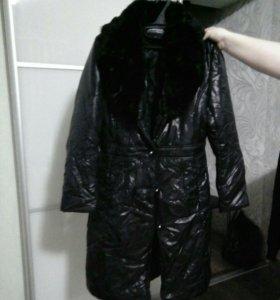 Пальто женское синтепоновое весна-осень