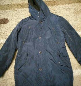 Зимняя мужская парка куртка