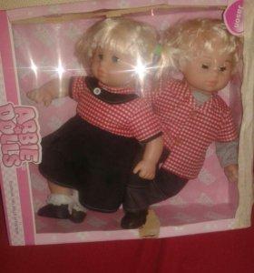 Новые куклы двойняшки.доставлю.