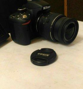 Фотоаппарат зеркальный Nikon D3200+18-55 II Kit