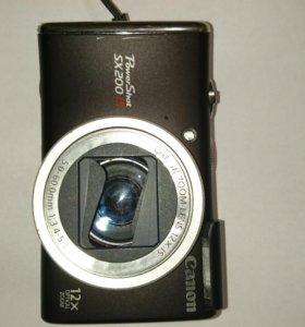 Фотоаппарат Canon PowerShot SX200 IS