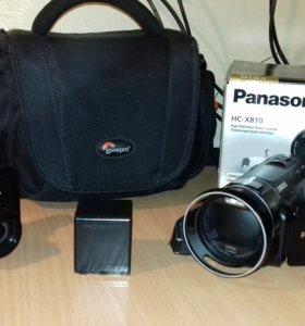 Видеокамера Panasonic HC-X810,Nikon S9300