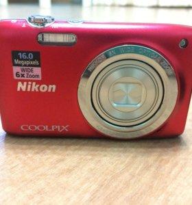 Фотоаппарат Nikon S2700