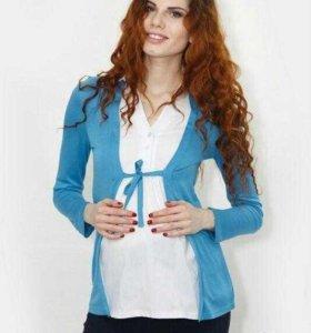 Блузка-двойка для беременных
