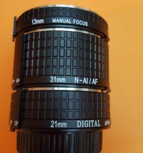 Marumi набор колец для макросъемки на Nikon