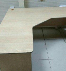 Продам стеллажи, новые полки,столы и шкафы