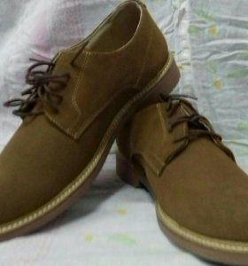 Туфли мужские новые, замша.