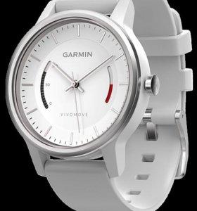 Часы Garmin Vivomove Classic White/Black новые