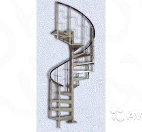 Лестница винтовая, металлическая