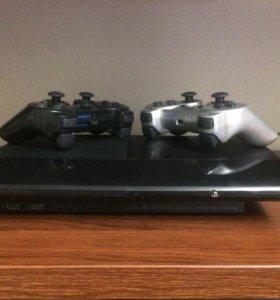 PS3 slim+ 12 игр