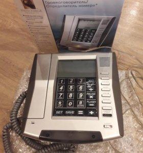 Телефон LCD с сенсорной панелью